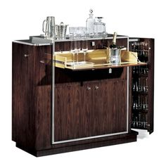 Mad Men meets James Bond Mid Century Bar. Must have for the new home office