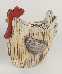 Take a look at this Sitting Rooster Figurine by Craft Outlet on #zulily today!