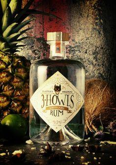Quirky Liquor Bottle Labels Feature Illustrations of Hellhounds - DesignTAXI.com
