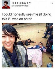 Hey Baek what r u doing? Kdrama Memes, Funny Kpop Memes, Stupid Memes, Bts Memes, Korean Drama Funny, Korean Drama Quotes, Scarlet Heart Ryeo Funny, Drama Fever, Drama Drama
