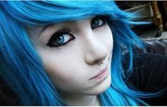 Emo eye makeup tutorial                                                                                                                                                     More