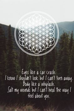 Deathbeds by Bring Me The Horizon One of my favs because Oli is singing. He has such a beautiful voice