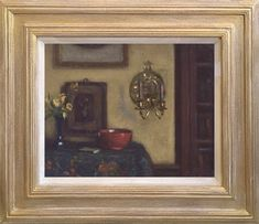 Tisdall was born in Galway, Ireland in 1861 and rose to prominence as an artist, for his intimate interior and still life paintings. Red Bowl, Gallery Of Modern Art, Irish Art, List Of Artists, London Art, Teaching Art, Art School, Still Life, Oil