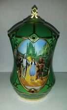 Wizard of Oz Revolving Heirloom Porcelain Music Box First Issue