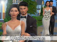Sims 4 CC's - The Best: Wedding Poses by Siciliaforever