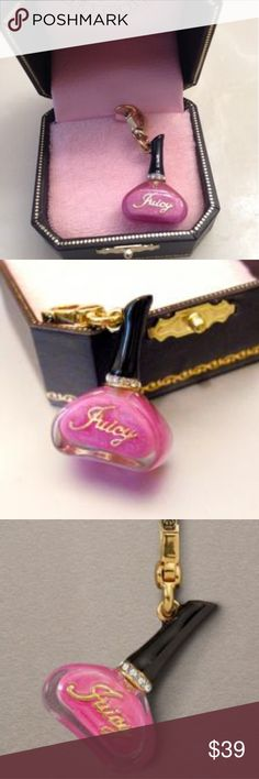 "JUICY COUTURE  "" Nail Polish"" Charm JUICY COUTURE  "" Nail Polish"" Charm Juicy Couture Accessories"