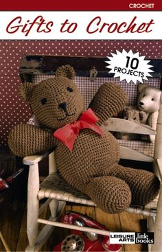 Gifts to Crochet eBook includes toys and other items to crochet take a look inside...