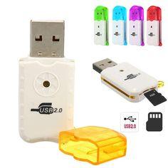 BangGood - Eachine1 Mini USB 2.0 Micro SD TF T-Flash Memory Card Reader Writer High Speed Adapter - AdoreWe.com