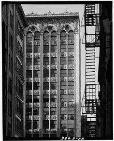 Bayard-Condict Building, NYC. 1899. Louis Sullivan.