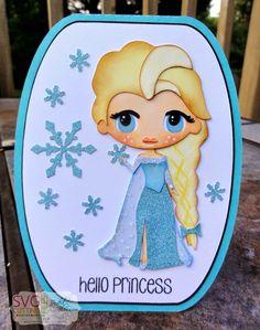 The Cricut Bug: Hello Princess-Elsa
