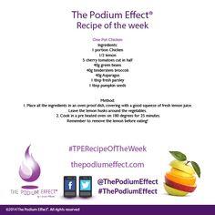 One pot chicken recipe #chicken #vegetables #thepodiumeffect