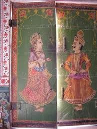 Consider antique panels for doors Painted Interior Doors, Interior Paint, Jain Temple, Religious Architecture, Art Decor, Cool Pictures, Oriental, Princess Zelda, Antiques