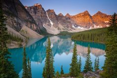 Morain Lake, one of my actual images now that I've been there!