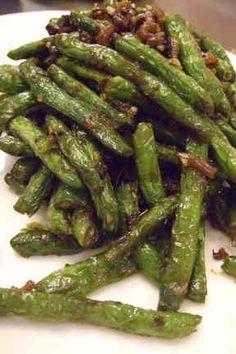 四川料理 インゲン炒め(干煸四季豆)の画像