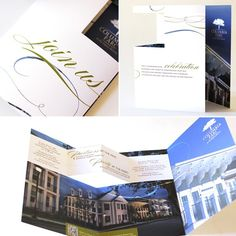 Pop-Up Diecut Invitation #invite #printing