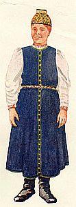 Этнография тверских карел. Национальный костюм Finland, Russia, Fashion, Moda, Fashion Styles, Fashion Illustrations
