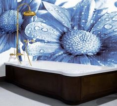 glass mosaic tiles for bathroom
