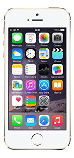 Apple iPhone 5s A1533 Unlocked Smartphone with GSM, 4G LTE, 16GB , 1GB RAM, 8 MP (Gold)
