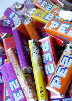Oh how I loved PEZ...
