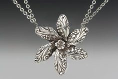 Silver Spoon necklaces @Samuell Day Gallery  #necklace #fashion #antique #beautiful