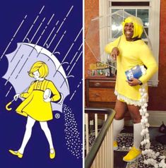 - A buddy of mine and his salty Halloween costume. – the latest On Game Costumes, Funny Halloween Costumes, Cosplay Costumes, Costume Ideas, Halloween Stuff, Funny Sites, Bridal, Nice Tops, Mom And Dad