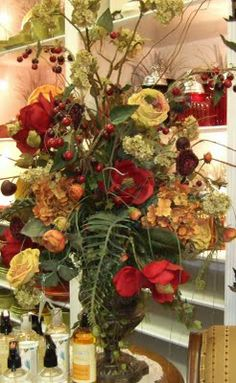 Ana Silk Flowers: Pictures!!!!,Luxurious large silk floral Centerpiece arrangements...