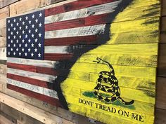 American Gadsden Flag Long before Americans were saluting the Stars and Stripes, our forefathers were pledging their respect to the Gadsden flag.  Now you can honor both historical flags with a piece that depicts the red, white, and blue alongside the familiar yellow flag emblazoned with the image of a rattlesnake.   With the concealment package, the artwork is constructed on sliders, which allows for quick and easy access, and is shipped with high-density Kaizen gun foam that can be…