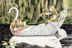 Elven Swan Gondola ~ Henning Janssen.