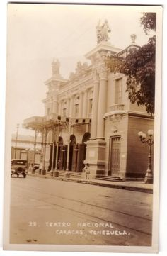 Teatro Nacional by A. Chataing (1906)