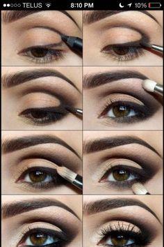 Step By Step Cat Eye Makeup!