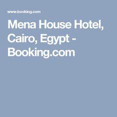 Mena House Hotel, Cairo, Egypt - Booking.com