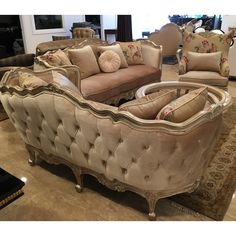 Shop the Versailles Sofa at Perigold, home to the design world's best furnishings for every style and space. French Furniture, Classic Furniture, Home Decor Furniture, Cheap Furniture, Sofa Furniture, Luxury Furniture, Home Furnishings, Furniture Design, Furniture Movers