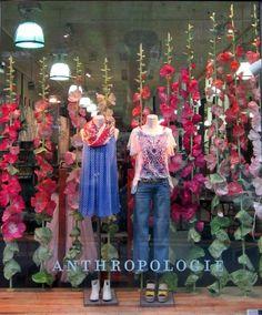 #WestBroadwayNewYork #Anthropologie Window Display Shop | Store | Retail | Window | Display | Visual Merchandising
