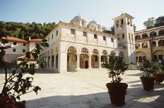 Monastery of Icosifinissa - Serres Regional Unit - Greece Macedonia, Regional, The Unit, Tours, Mansions, World, House Styles, Places, Pictures