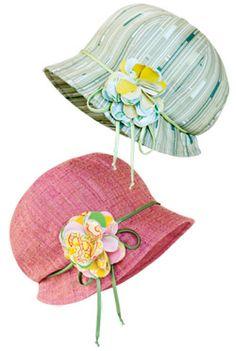Boho Cloche Hat - mini pattern Oh I am sooooooo going to make this!
