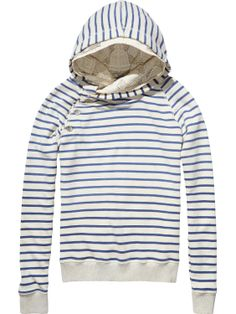 Home Alone sweater with double hood | sweat | Woman Clothing at Scotch & Soda