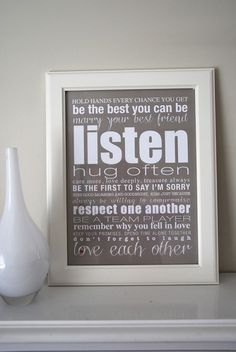 Marriage Advice - Wall Art Print - by mediafreedom on madeit