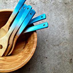 ombre utensils etsy