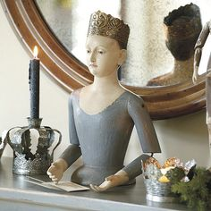 Crowned Santos Bust. I'm not exactly sure why, but I'm totally in love with this.
