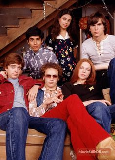 That 70s Show.....could watch the whole series in a row...love...