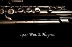 1927 silver Haynes flute by Islandguy, via Flickr