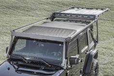2007-2017 Jeep JK 4 Door Sliding Roof Rack - Jeep Jk Roof Rack - 2007-2017 Jeep JK Products - Jeep - Products