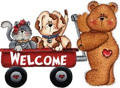 ᐅ Top 9 Welcome images, greetings and pictures for WhatsApp Welcome Quotes, You're Welcome, Welcome To The Group, Hello Welcome, Welcome Pictures, Welcome Images, Comic Cat, Teddy Bear Cartoon, Teddy Bears