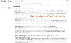 BitCoin Gratis atau free bitcoin ? Siapa sih yang gak mau dikasih bitcoin secara gratis, ya gak?. Apalagi dengan harga bitcoin yang setinggi langit ( katanya 1 BTC bisa dapat mobil avanza 1 ). Emang kenyataan bisa dapat mobil. Gak percaya ?. Buktikan sendiri....