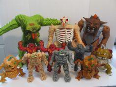Vintage Hasbro 1986 Inhumanoids Lot!! Tendril, Metlar, Redlen Mutore More!!