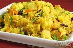 Receita de Arroz indiano em receitas de arroz, veja essa e outras receitas aqui!