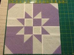Disappearing hourglass tutorial.  Might make a good R,W,and B quilt for QOVs.