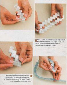 Reciclando todo y mas... : Bolso de dama reciclando botella pet
