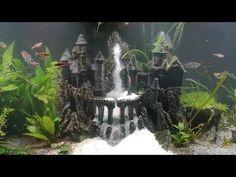 Aquascaping, Bonsai, Waterfall, Castle, Youtube, Aquariums, Waterfalls, Castles, Youtubers