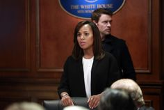"Jacket: ""Victoria Beckham"" Double Crepe Black Kimono Jacket. Shirt: ""Etro"" White Silk w/ Black Shoulder Detail, Sleeveless. Ring: ""Monique Pean"" Gold Infinity. First worn by Olivia Pope in Scandal season 3 episode 17 ""Flesh and Blood."""